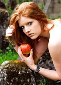 Eva im Garten von Eden