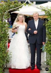 Doreen und ihr Papa / Foto: Anett Petrich