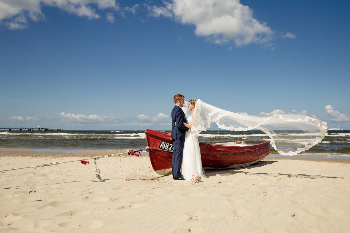 Kirchliche Hochzeit in Heringsdorf – Mareike und Matthias sagen Ja auf Usedom